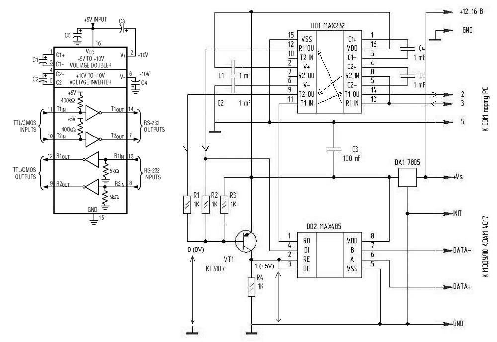 преобразователь UART (TTL)