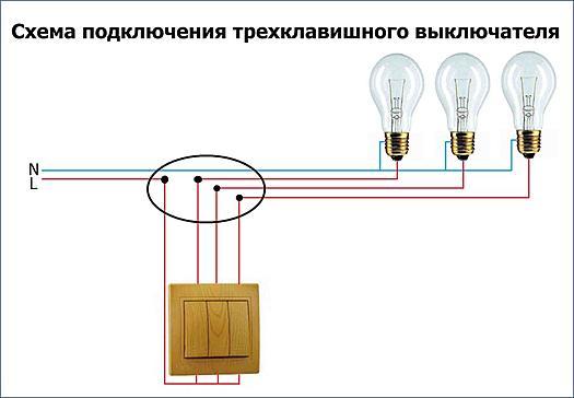 Нажмите на изображение для увеличения Название: Shema-podklyucheniya-trehklavishnogo-vyklyuchatelya-1024x710.jpg Просмотров: 2 Размер:70.9 Кб ID:5050